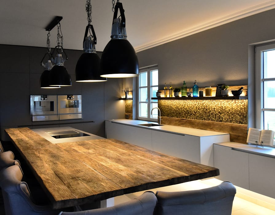 Luxus & funktionalität: die moderne küche: küche von pomp & friends ...