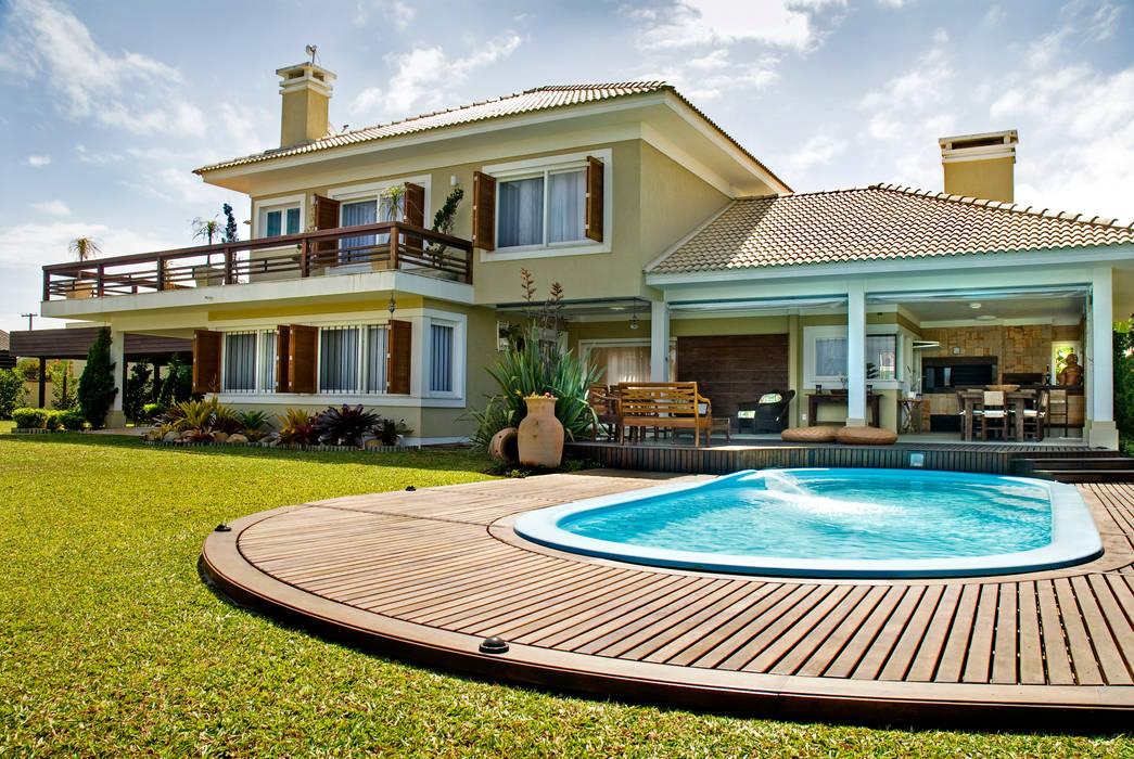 Casas de campo de estilo  por Maciel e Maira Arquitetos,