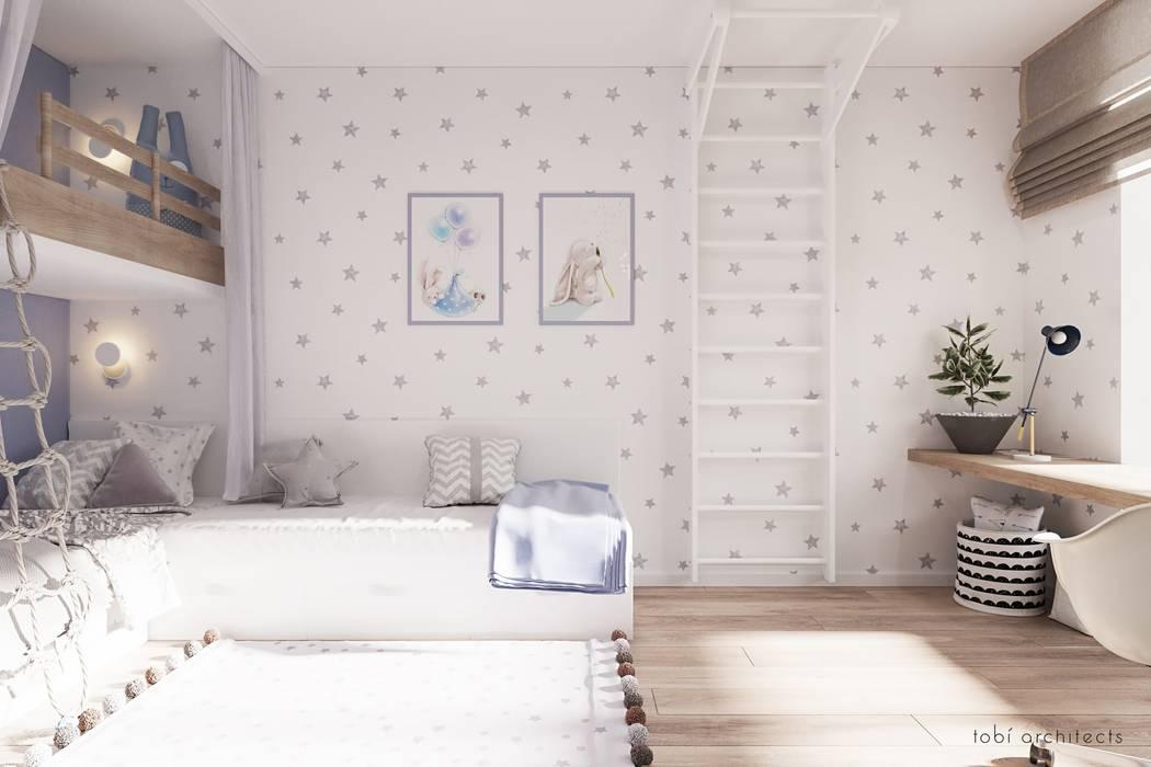 Kühlschrank Jugendzimmer : Light and blue jugendzimmer von tobi architects homify