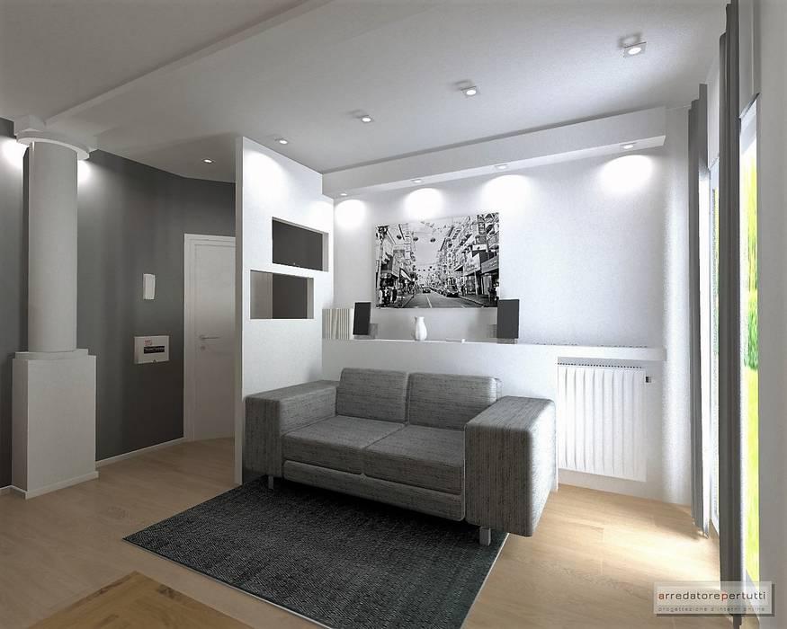 Arredare soggiorno con cartongesso for Ingresso soggiorno arredare