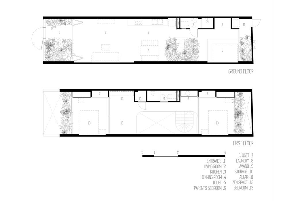 LESS house : hiện đại  by workshop.ha, Hiện đại