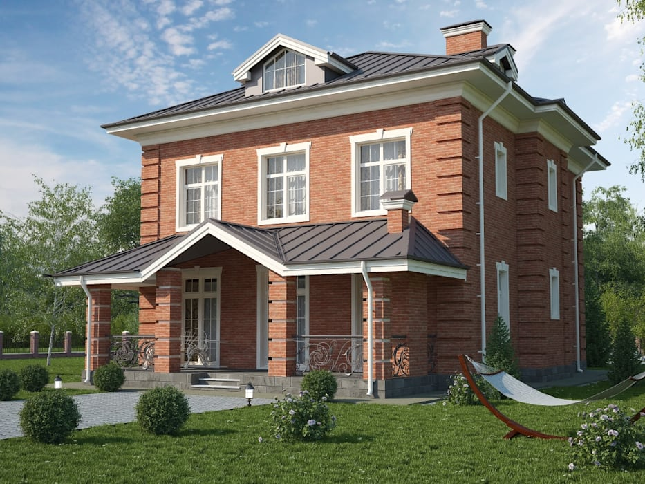 Дарли-1_304м2: Дома в . Автор – Vesco Construction