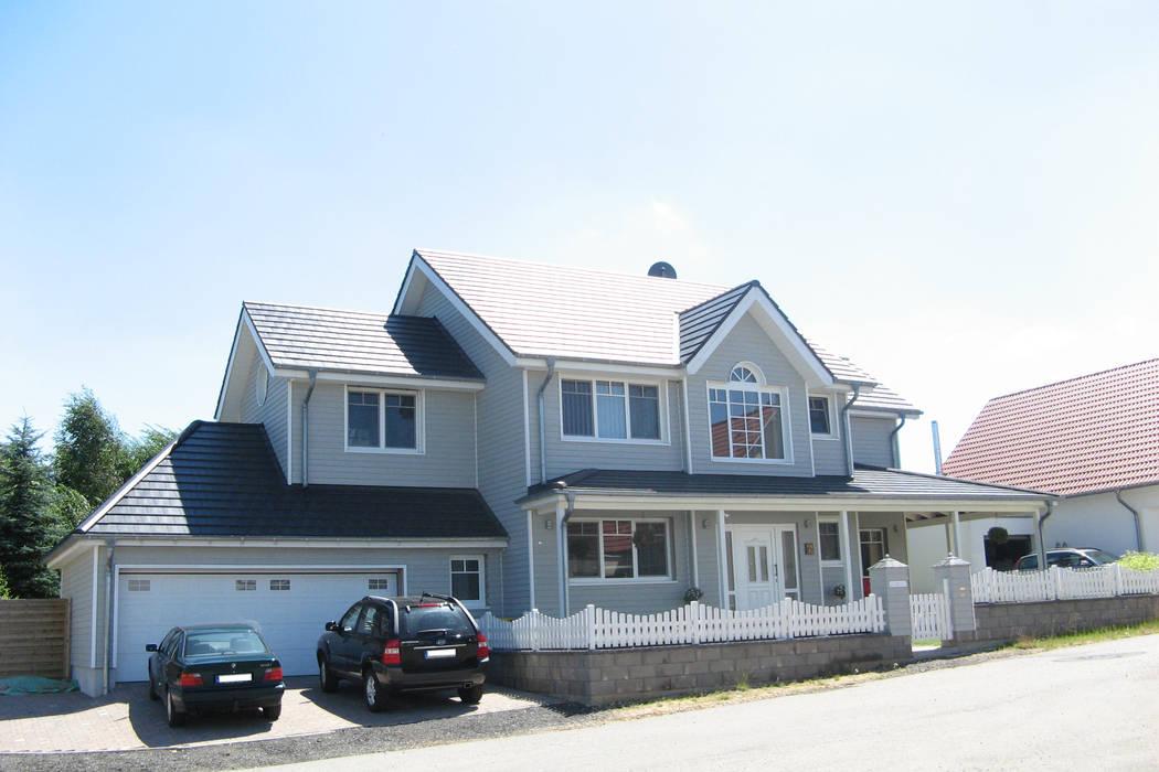 Neubau eine einfamilienhauses im amerikanischen stil: häuser ...