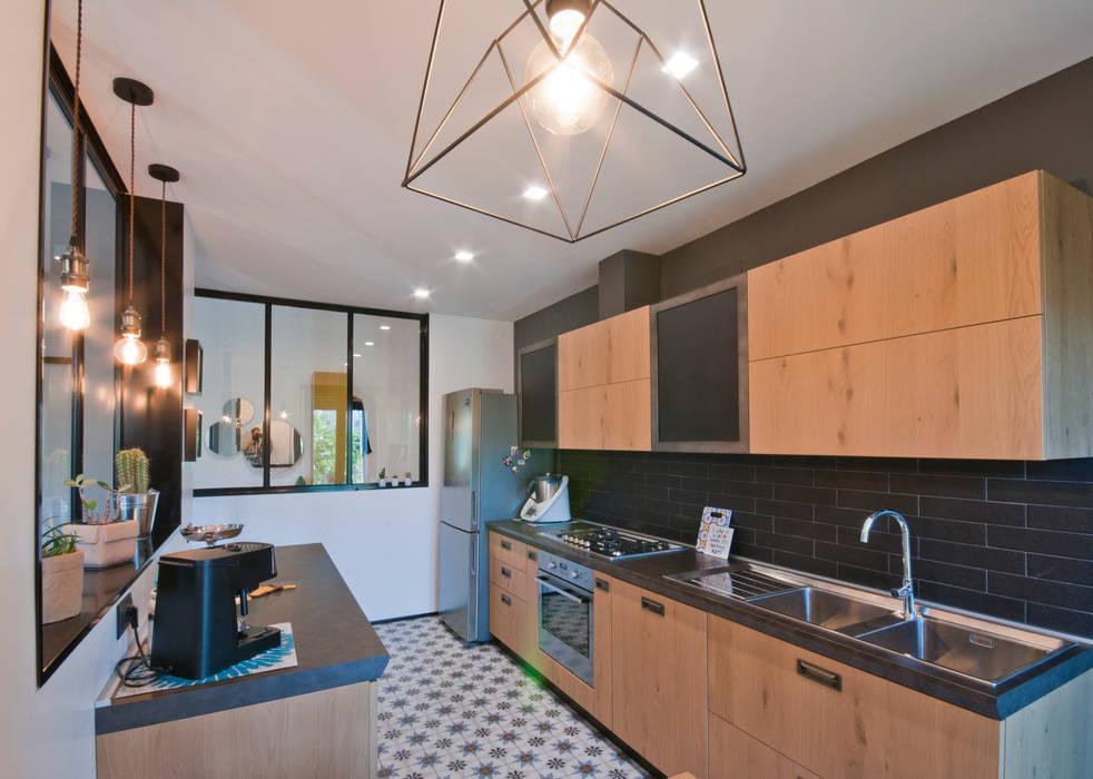 Cocinas de estilo  de 07am architetti, Industrial