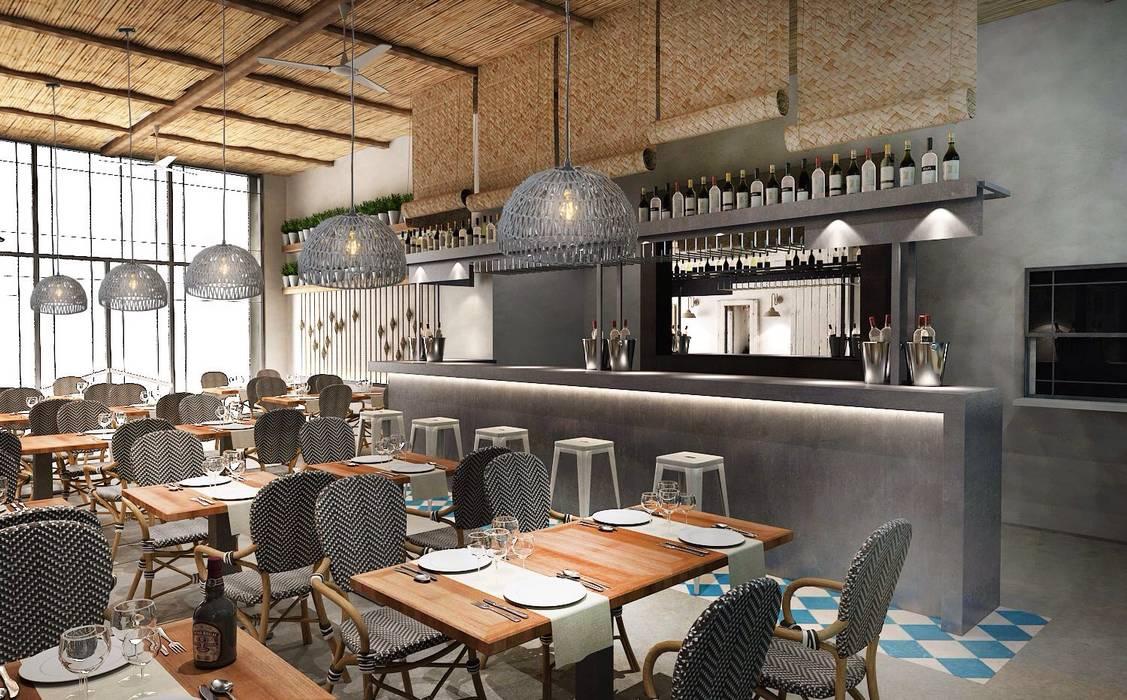 Bar & Klub  oleh Camiar Design, Modern