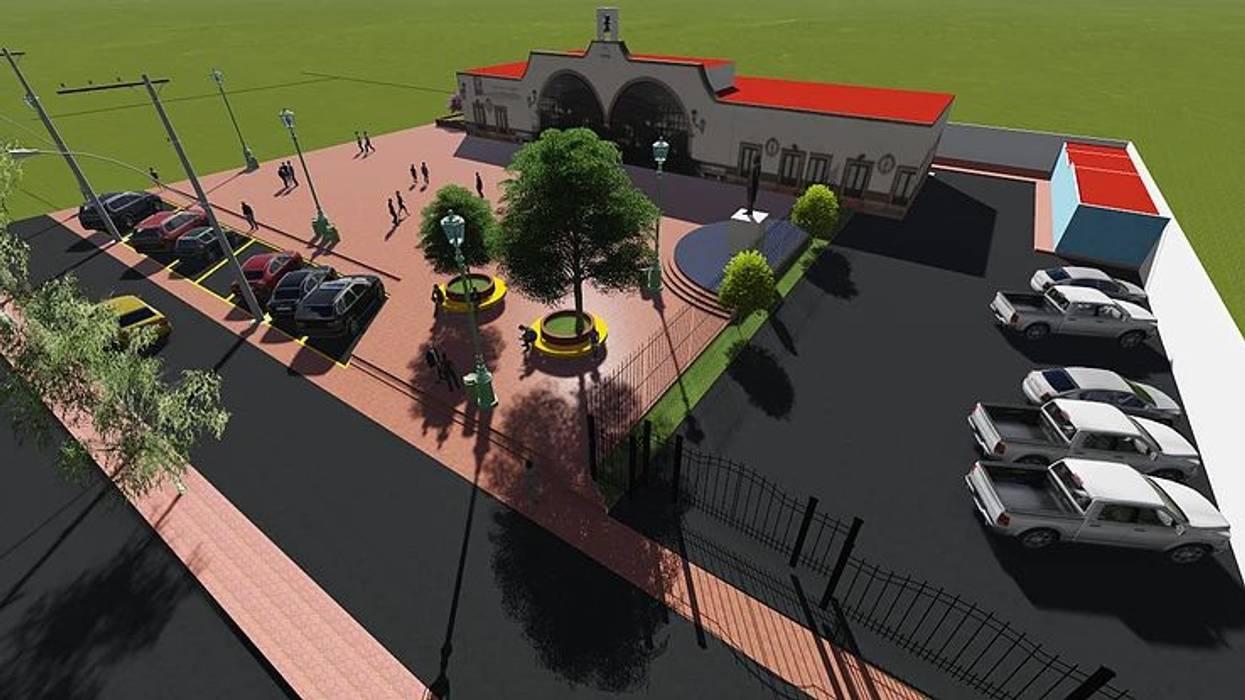 Propuesta de Remodelación Plaza Carrillo Puerto de VB Arquitectos Colonial