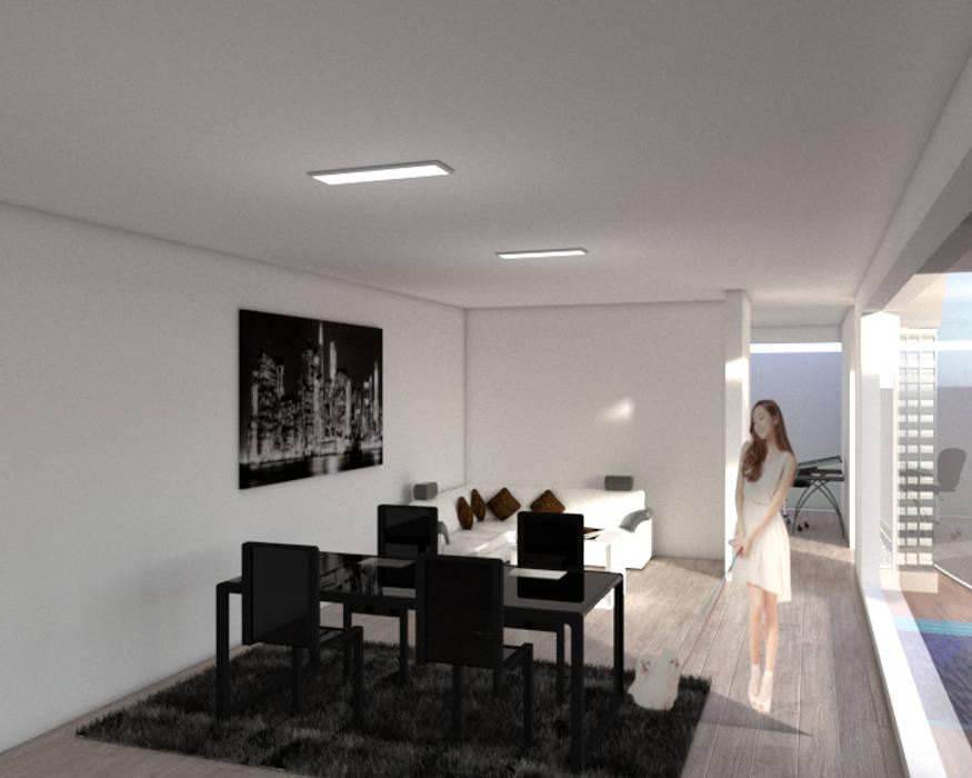 interiorismo Salas de estilo minimalista de ARCHIMINIMAL ESTUDIO Minimalista