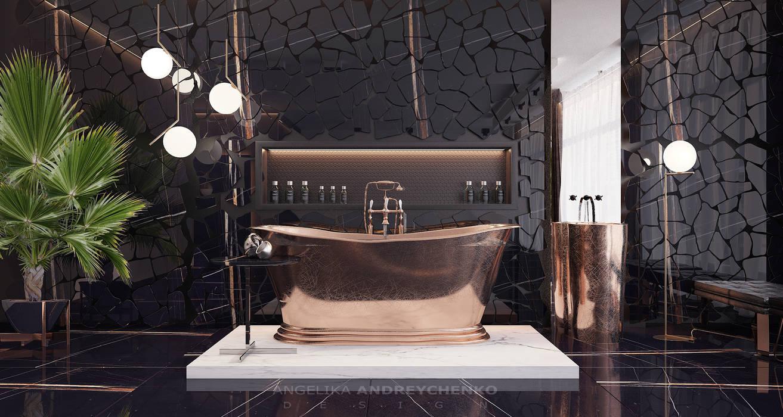 Luxury Винный погреб в стиле минимализм от Андрейченко Анжеликa Минимализм