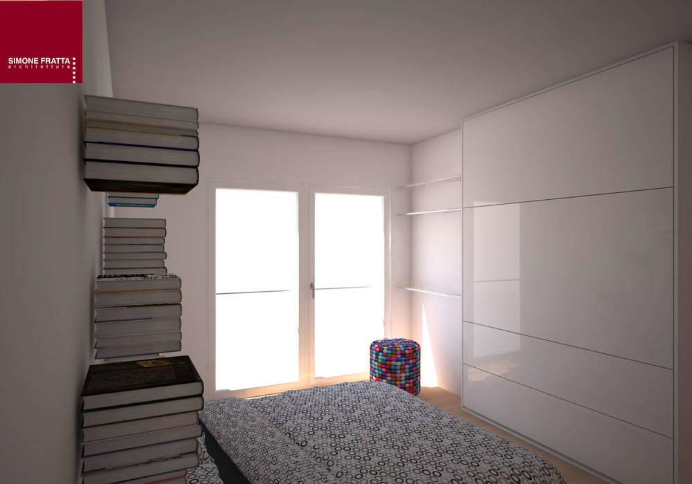 Parete attrezzata : camera da letto in stile di simone fratta ...