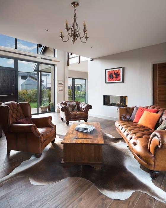 Living room Maciek Platek - Interior and Architecture Photographer Soggiorno rurale