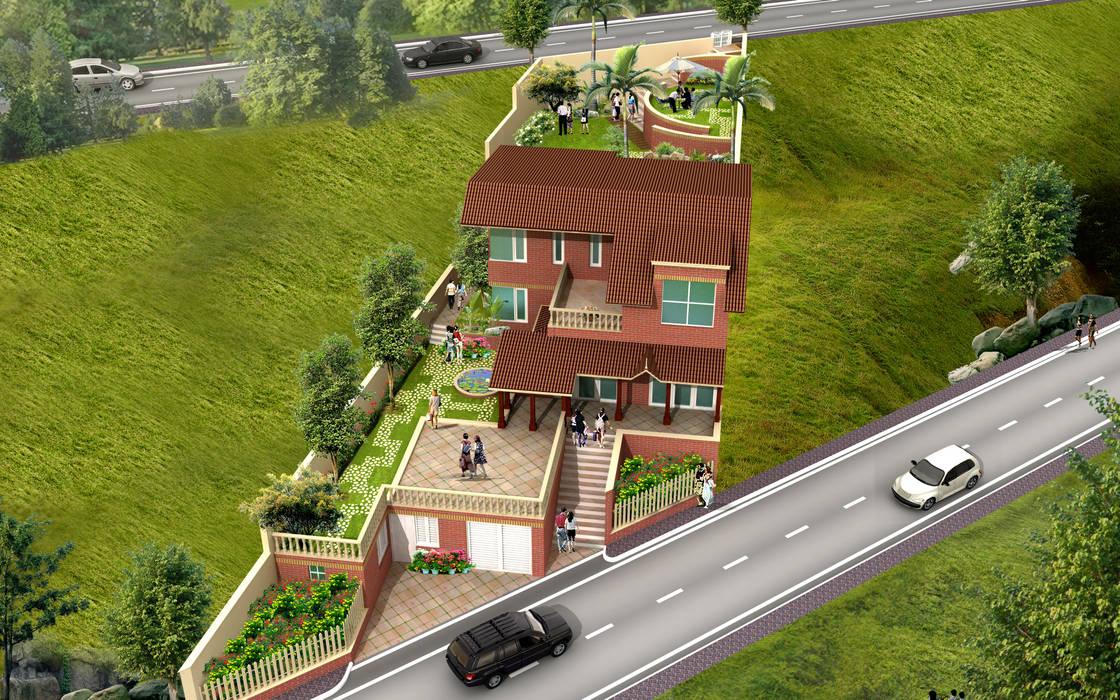 Villa architecture Modern houses by SDINC Modern
