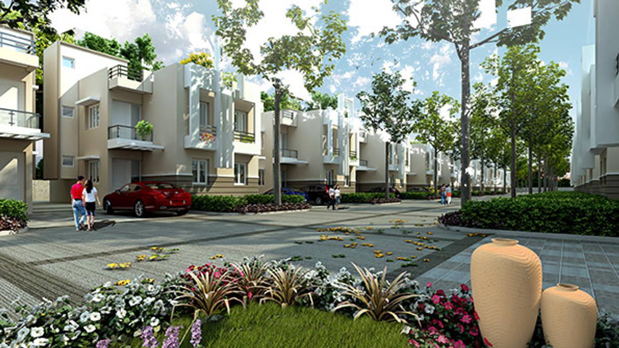 Moderne Häuser von SDINC Modern