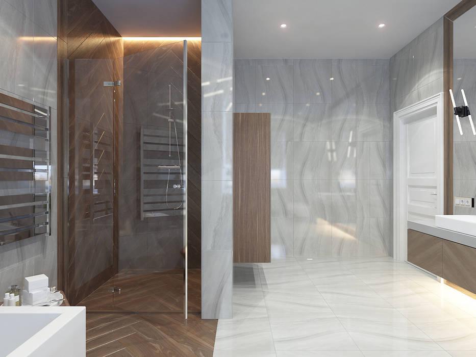 Bathroom by Студия дизайна и визуализации интерьеров Ивановой Натальи., Modern
