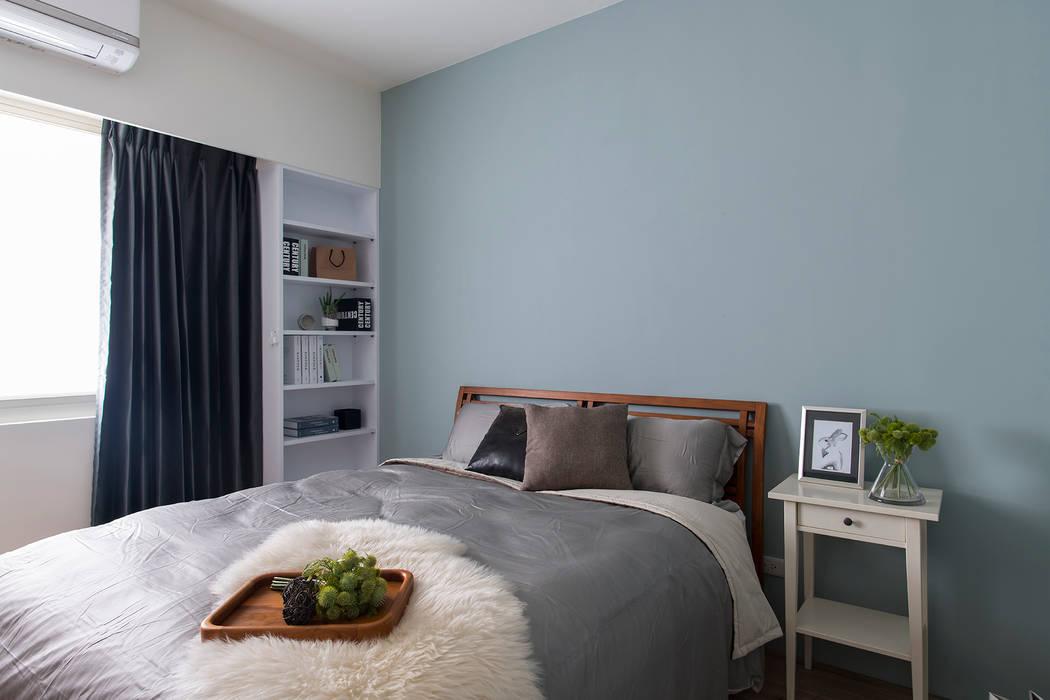 《日向》:  臥室 by 辰林設計, 北歐風