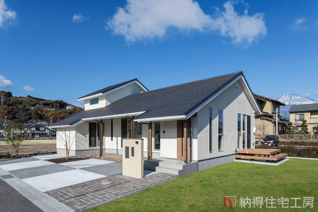 by 納得住宅工房株式会社 Nattoku Jutaku Kobo.,Co.Ltd. Modern