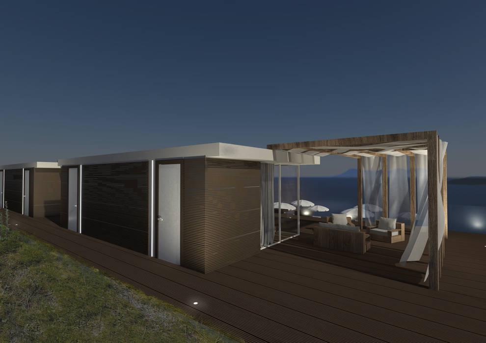 dettaglio casa singola: Case in stile in stile Minimalista di Giemmecontract srl.