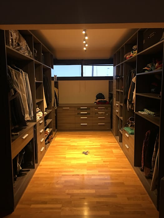 VIVIENDA EG: Dormitorios de estilo  por BVS+GN ARQUITECTURA