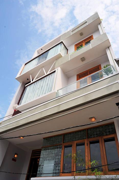 Thông tin về căn nhà phố 5 tầng đẹp:  Nhà gia đình by Công ty TNHH Xây Dựng TM – DV Song Phát