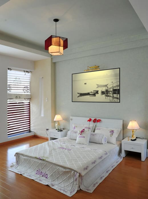 Modern style bedroom by Công ty TNHH Xây Dựng TM – DV Song Phát Modern