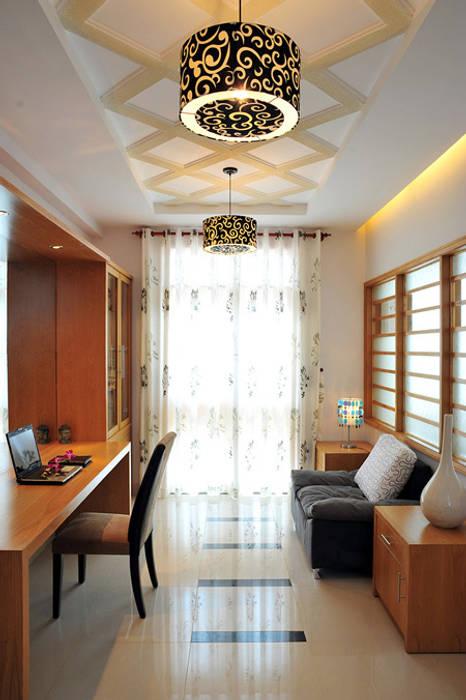 Phòng ngủ sang trọng và thoáng đãng Phòng học/văn phòng phong cách hiện đại bởi Công ty TNHH Xây Dựng TM – DV Song Phát Hiện đại