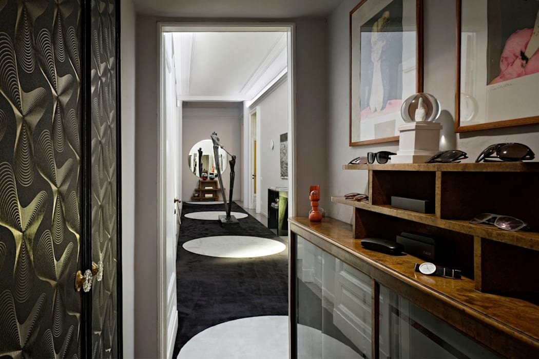 Paolo Frello Project: Ingresso & Corridoio in stile  di PAOLO FRELLO & PARTNERS