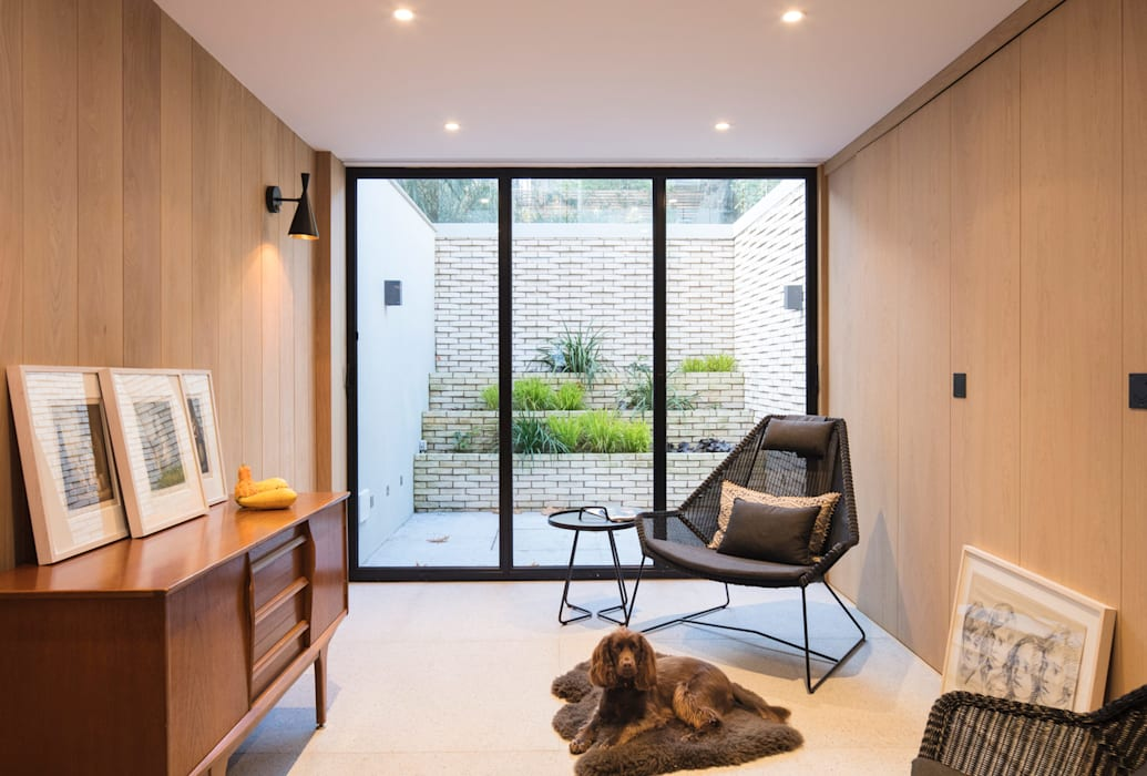 Living Room Architecture for London 现代客厅設計點子、靈感 & 圖片