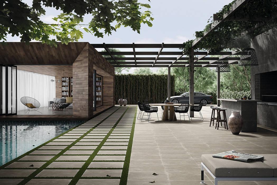 Ground: Jardins  por Love Tiles,Industrial