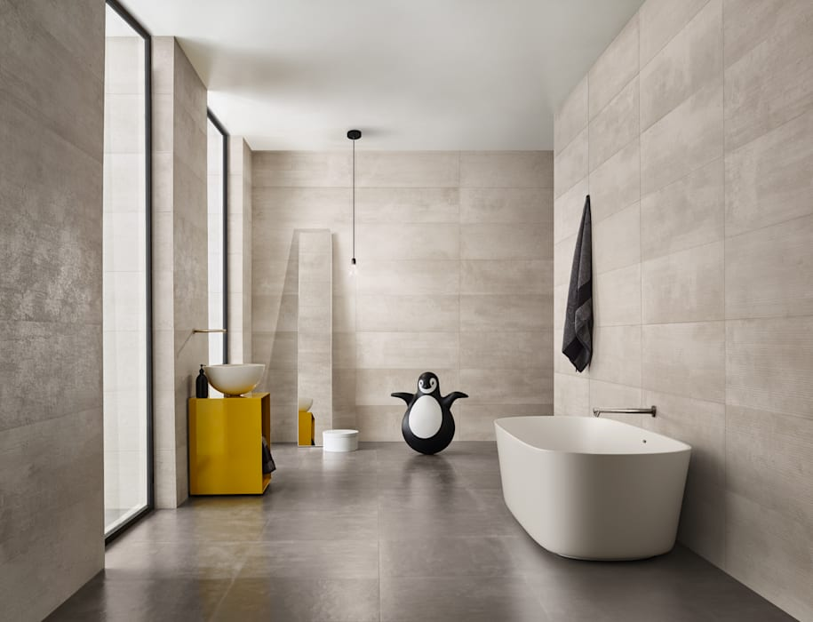 Urban Casas de banho ecléticas por Love Tiles Industrial