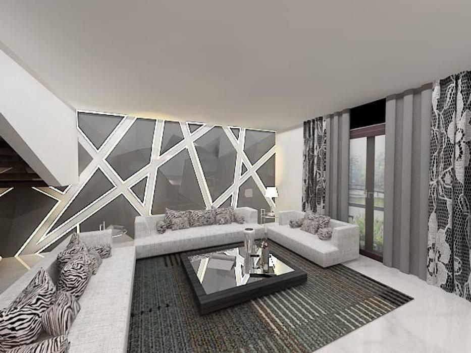 Salon de style  par Skaav Luxury Interiors