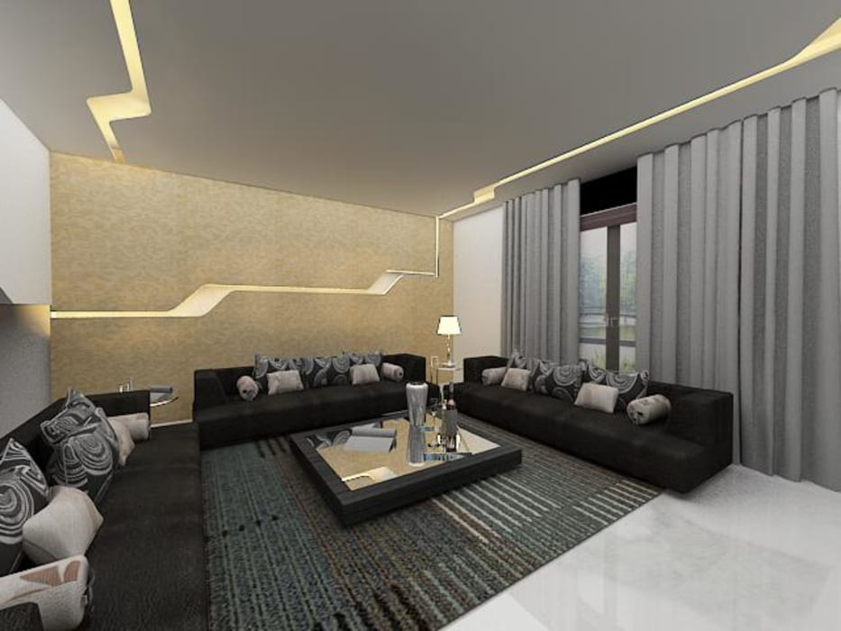Salones de estilo  de Skaav Luxury Interiors
