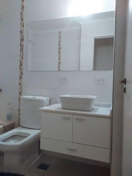 remodelacion de departamento en belgrano:  de estilo  por Remodelaciones SF