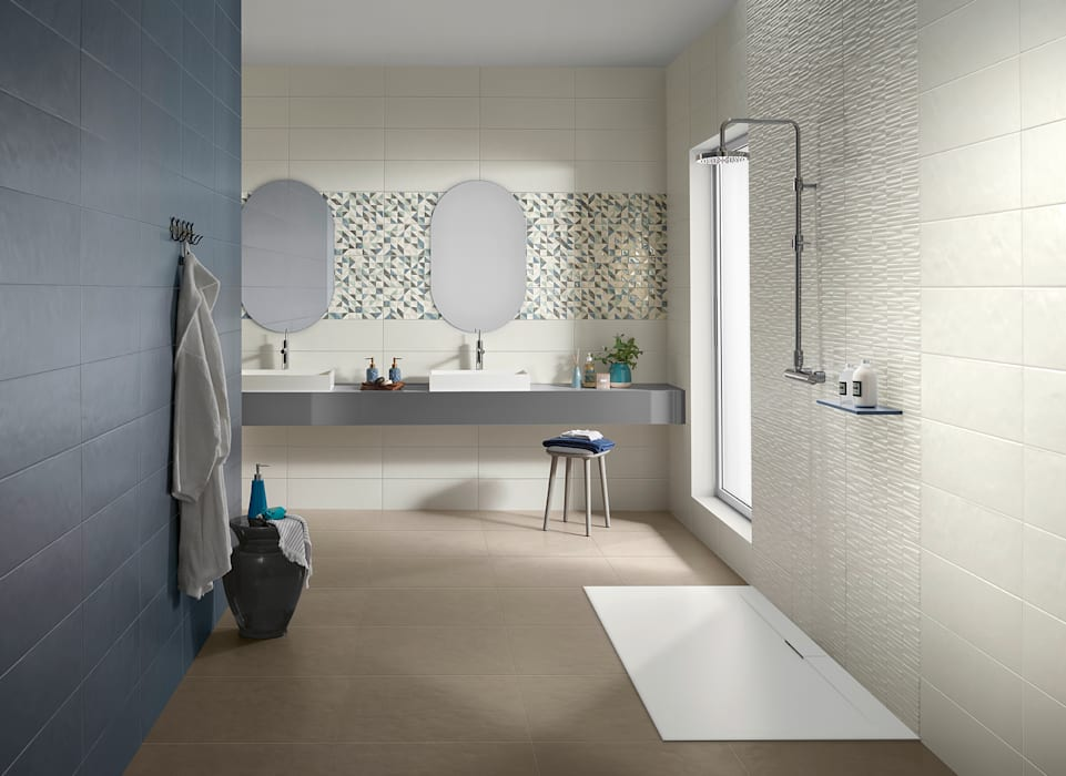 Bathroom by Love Tiles, Industrial