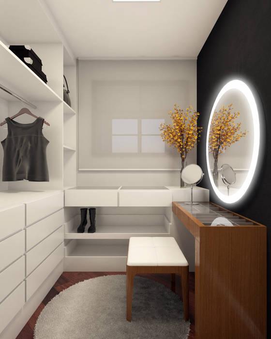 Closet Closets por RAFE Arquitetura e Design Minimalista MDF