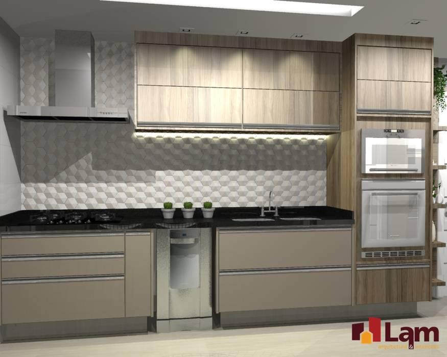 Apto. Vereda Reserva VI: Cozinhas  por LAM Arquitetura | Interiores,Moderno
