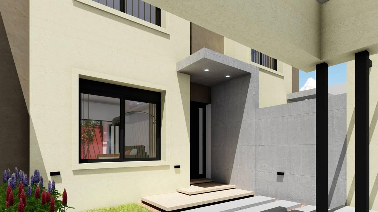 Vivienda en Duplex Puertas modernas de ARBOL Arquitectos Moderno