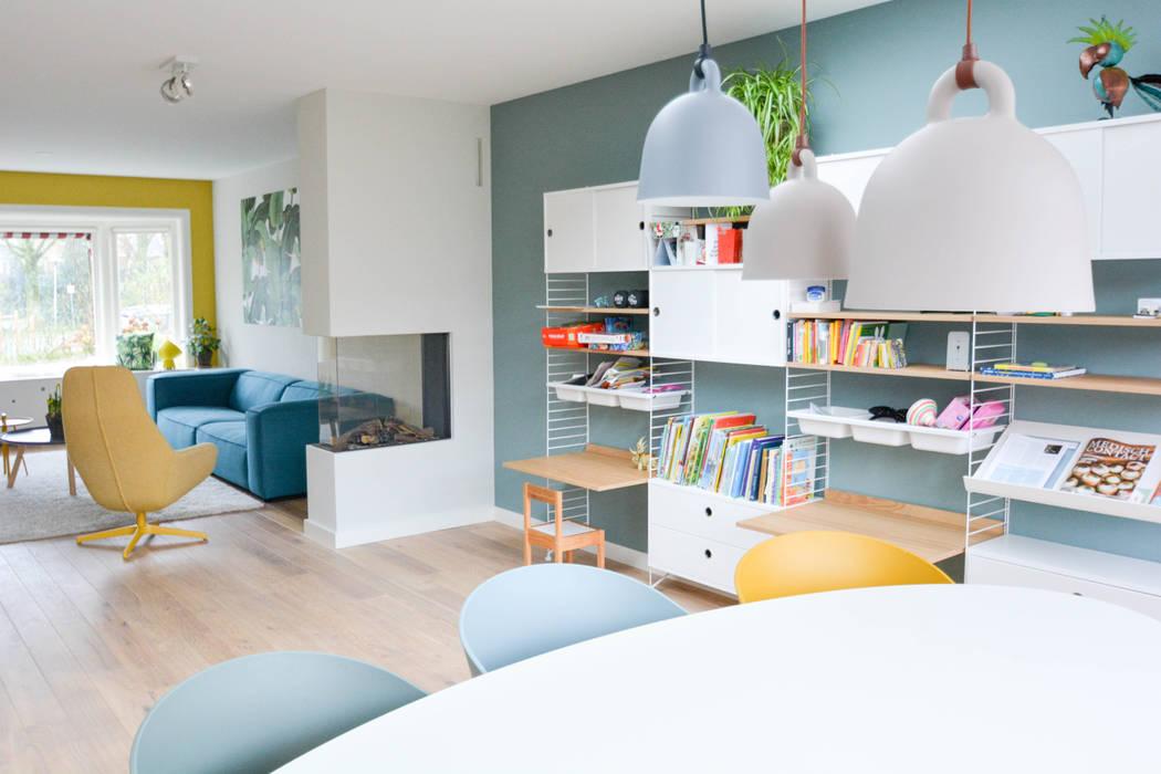 Ruang Keluarga oleh Studio Binnen, Skandinavia