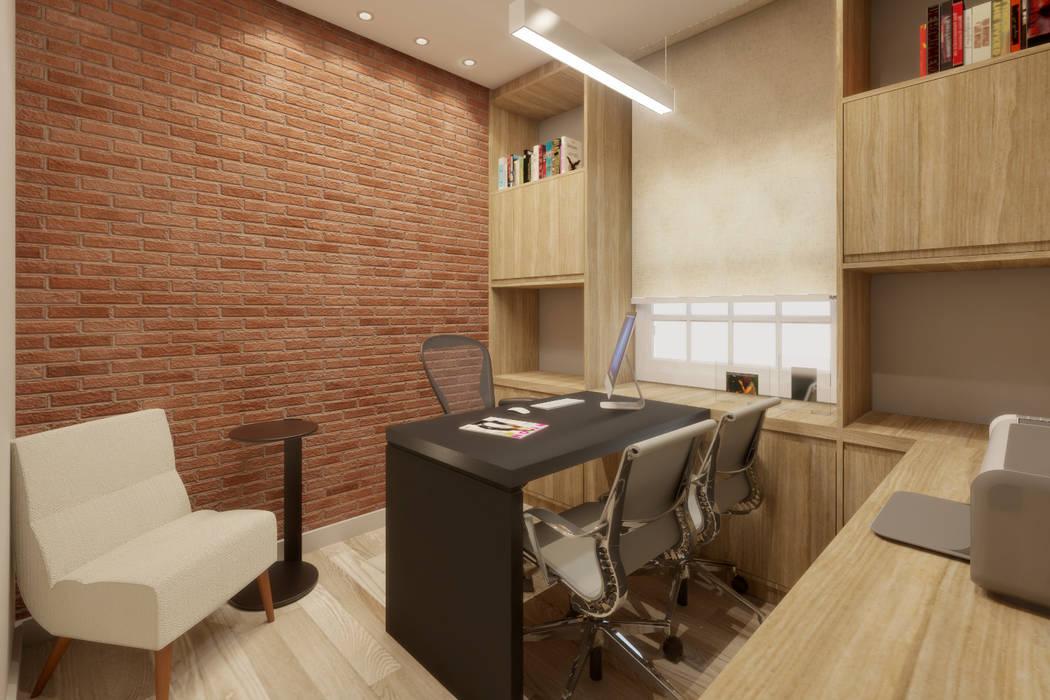 Espaces commerciaux modernes par A|S Studio Criativo 3D - Soluções Inteligentes em projetos técnicos Moderne