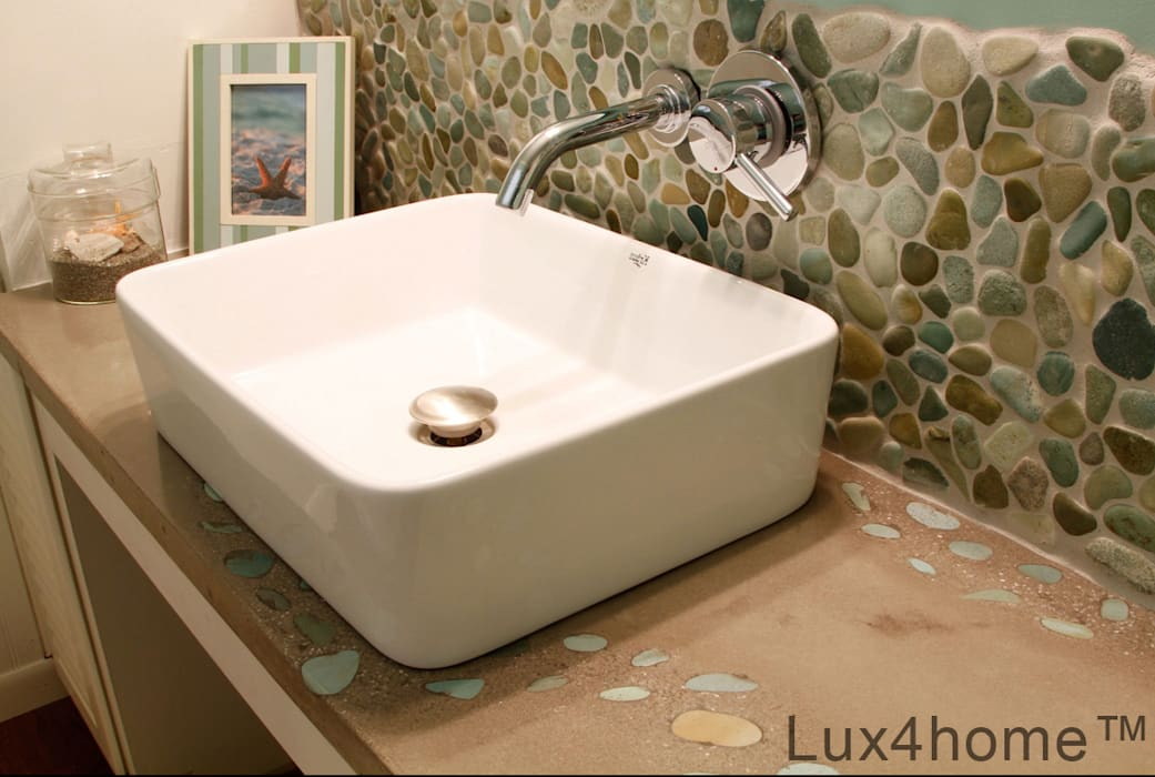 mediterranean Bathroom by Lux4home™ Indonesia