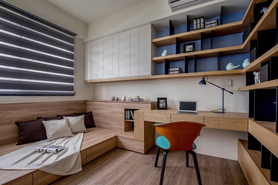 Kamar Tidur Modern Oleh 築青室內裝修有限公司 Modern
