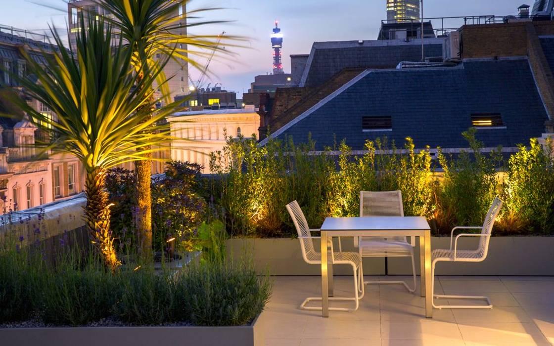 Roof Terrace Landscape Design Modern Balcony Veranda Terrace By Mylandscapes Garden Design Modern Homify