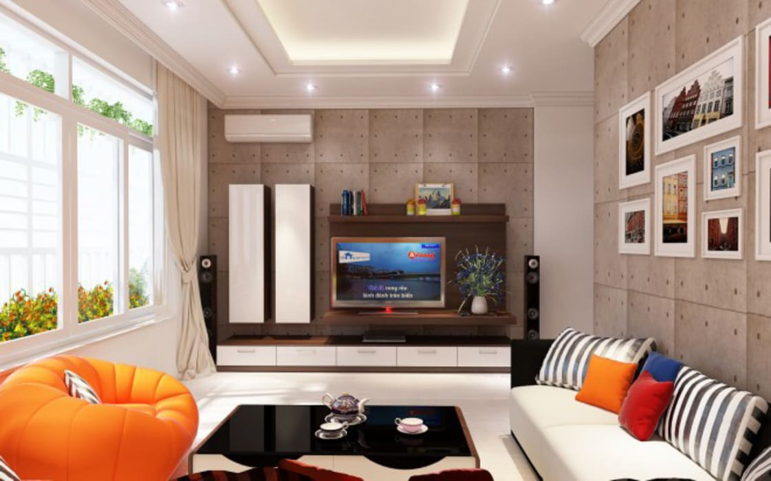 Hình ảnh 3D thiết kế nội thất :  Đồ điện tử by Công ty TNHH Xây Dựng TM – DV Song Phát