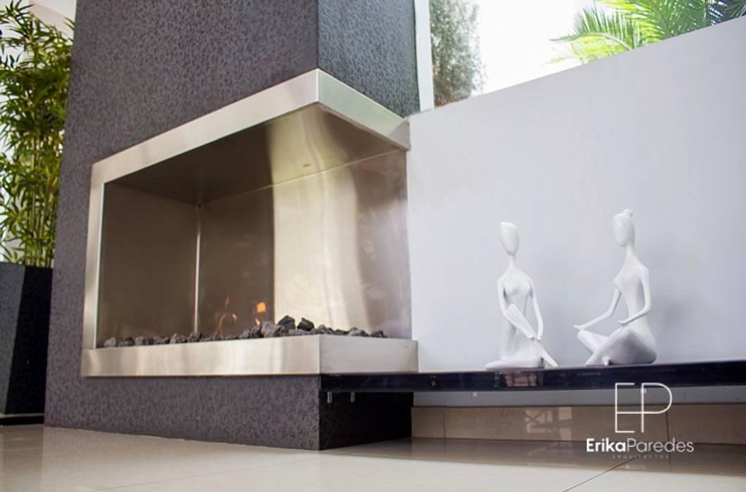 Chimenea Esquinada: Anexos de estilo  por EPG  Studio