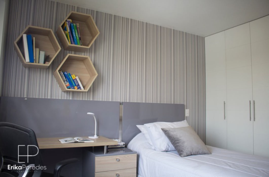 Dormitorio Juvenil Dormitorios de estilo moderno de homify Moderno