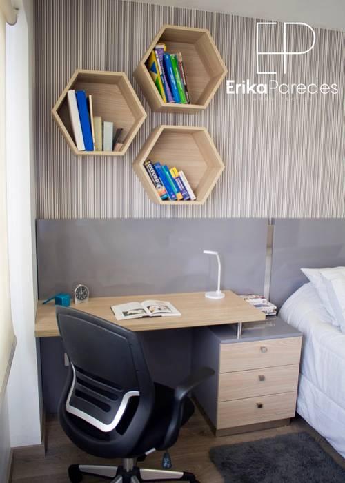Detalle de Escritorio: Dormitorios de estilo  por EPG  Studio