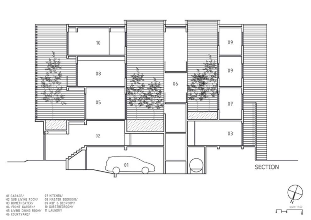Дома на одну семью в . Автор – Công ty TNHH Xây Dựng TM – DV Song Phát, Модерн