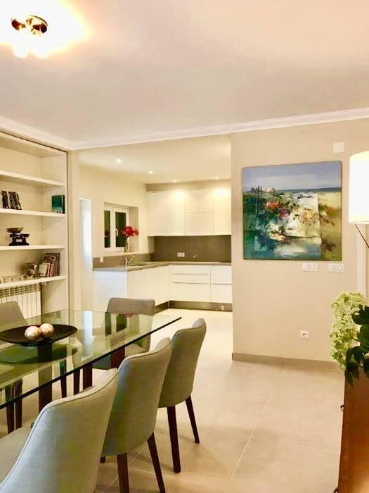 Vila PDR - Remodelação de uma sala, cozinha e hall Elite De Elogios