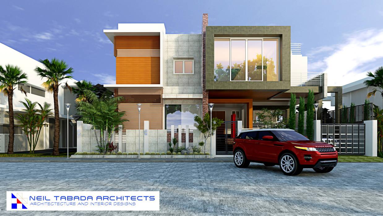 LSS HOUSE 4 NEIL TABADA ARCHITECTS Modern home