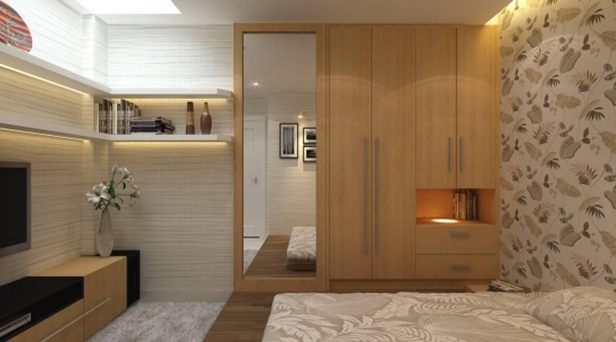 Thiết kế phòng ngủ master – phòng ngủ của con – phòng ông bà – phòng ngủ khách:  Phòng ngủ by Công ty TNHH Xây Dựng TM – DV Song Phát
