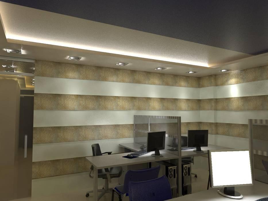 Diseño interior oficina: oficinas de estilo por maho arquitectura y ...