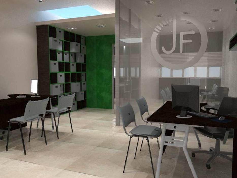 Diseño interior oficina : oficinas de estilo por maho arquitectura y ...